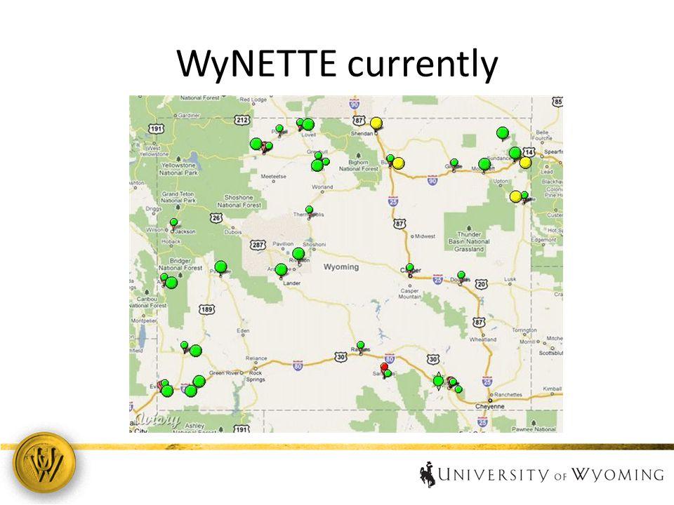 WyNETTE currently