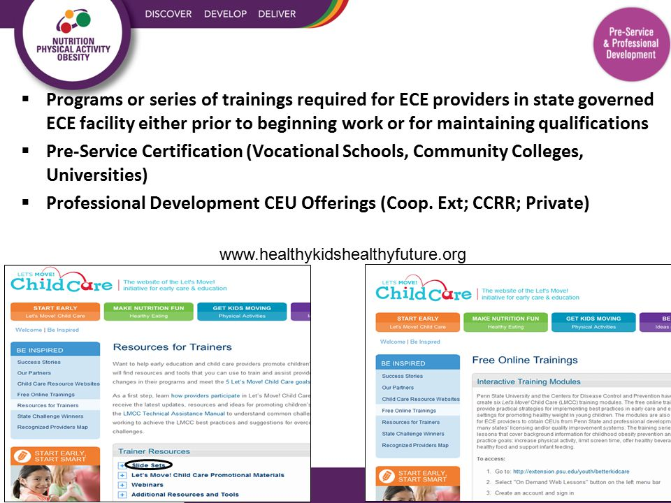 How well does your state promote interventions that take place directly within ECE facilities.
