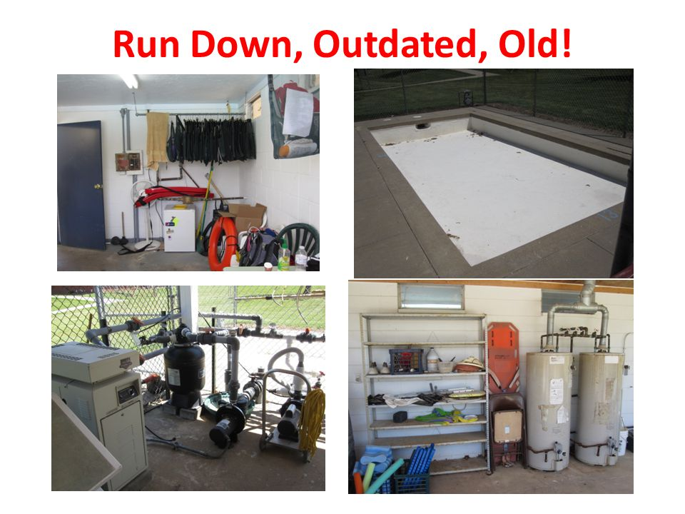 Run Down, Outdated, Old!