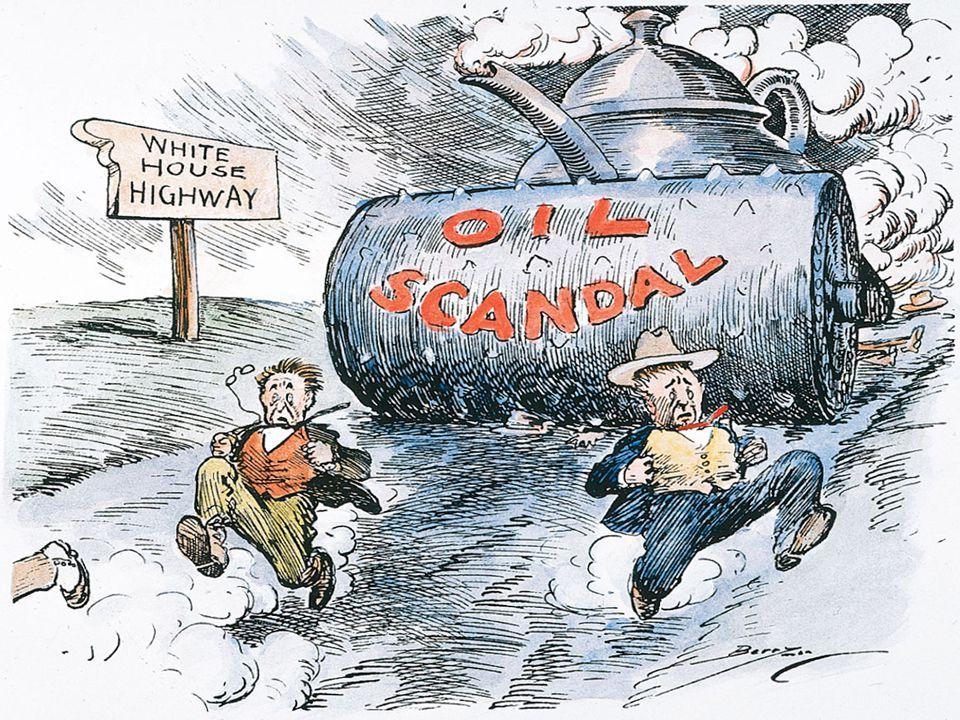Teapot Dome Scandal Teapot Dome (Wyoming) Elk Hills (Cali) Albert Falls – Sec.
