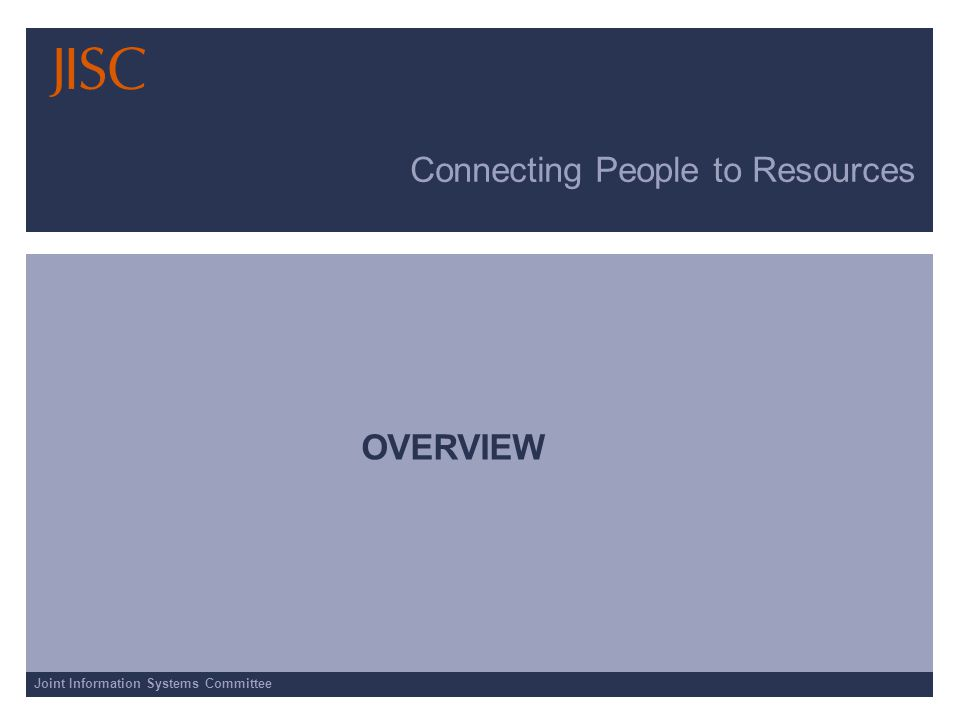 Joint Information Systems Committee Connecting People to Resources SCIENCE DIRECT