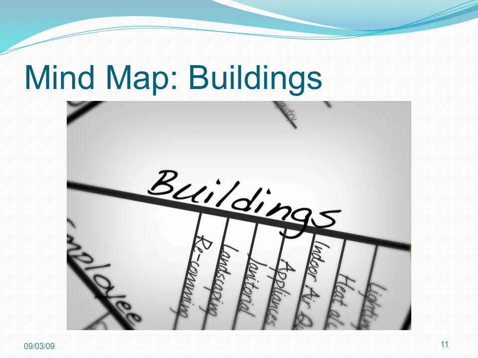 11 09/03/09 Mind Map: Buildings