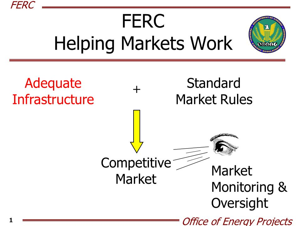 FERC Office of Energy Projects 2 FERC/OEP Tools Create a Forum for Discussion – Outreach Conferences Advise – Study Existing Facilities – Meet with Stakeholder Groups Our Process – Act on Certificate Filings