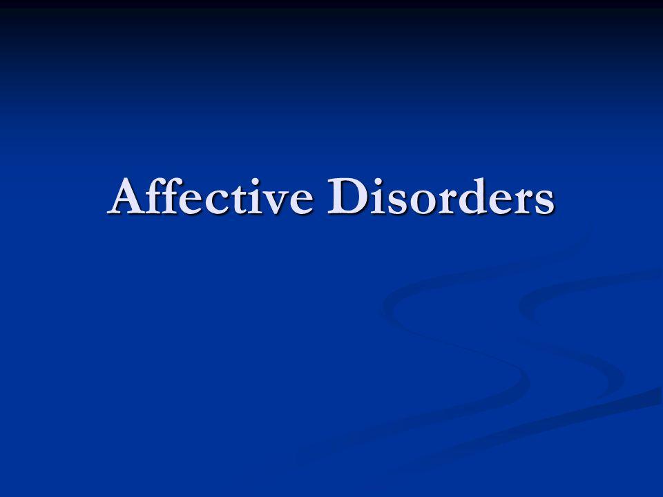Major Depressive Disorder: Treatment basics Medications: Medications: Selective serotonin reuptake inhibitors (SSRIs) Selective serotonin reuptake inhibitors (SSRIs) Tricyclic antidepressants (TCAs) Tricyclic antidepressants (TCAs) Monoamine oxidase inhibitors (MAOIs) Monoamine oxidase inhibitors (MAOIs) Other: venlafaxine, mirtazapine, nefazodone, bupropion Other: venlafaxine, mirtazapine, nefazodone, bupropion Psychotherapy: Psychotherapy: Cognitive-behavioral therapy (CBT) Cognitive-behavioral therapy (CBT) Interpersonal therapy (IPT) Interpersonal therapy (IPT) Psychodynamic psychotherapy (e.g., psychoanalysis) Psychodynamic psychotherapy (e.g., psychoanalysis) Other Other Electroconvulsive therapy (ECT) Electroconvulsive therapy (ECT) Light therapy – primarily for SAD Light therapy – primarily for SAD