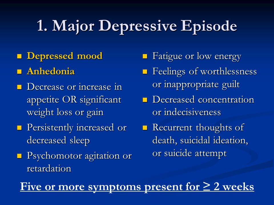Selective Serotonin Reuptake Inhibitors The SSRIs are effective in treating major depression.