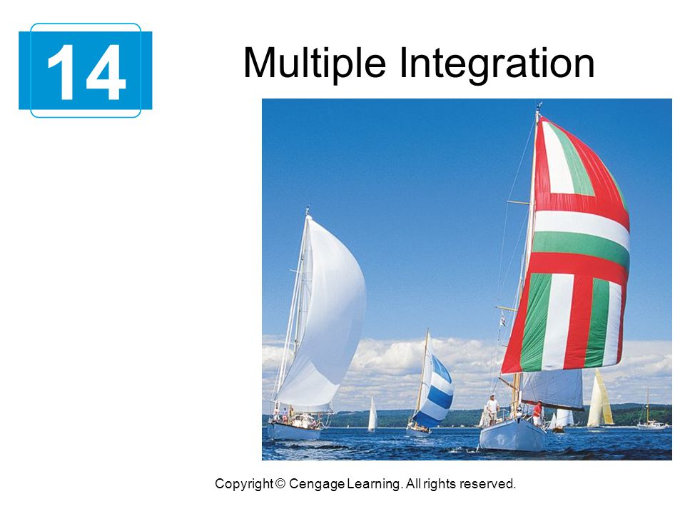 Triple Integrals Copyright © Cengage Learning. All rights reserved. 14.6
