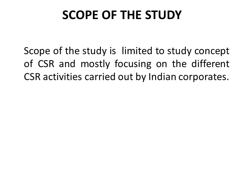 Recommendations for better CSR (contd.) There is also need for public-private partnership with well-defined controls and process for the best use of resources for social change.