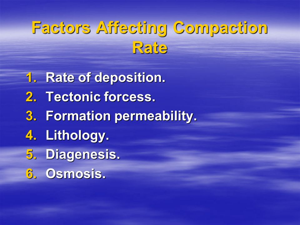Compaction It is PRINCIPALY a process of mechanical rearrangement