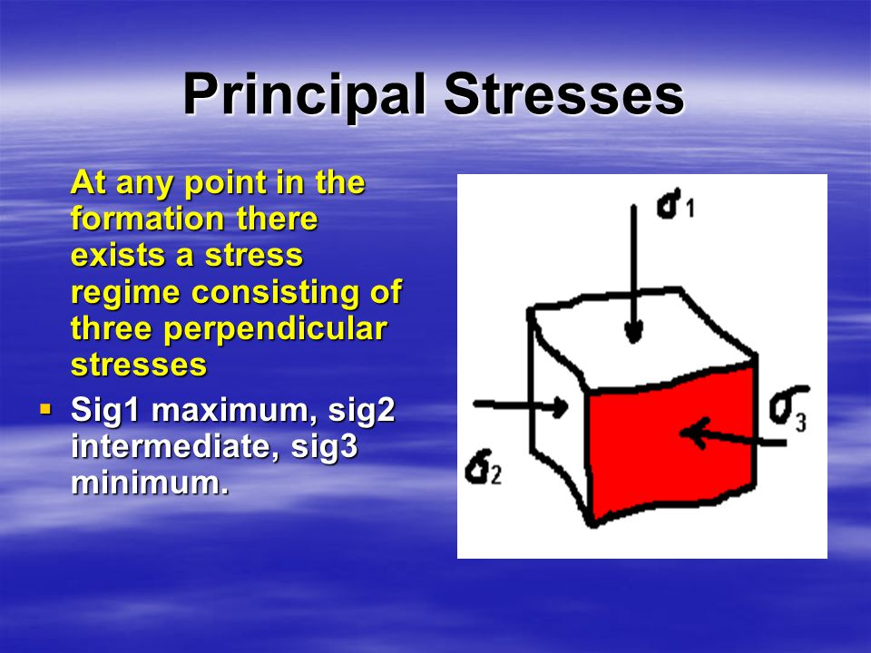 III- FRACTURE PRESSURE Is the pressure needed to make a fracture in a formation.