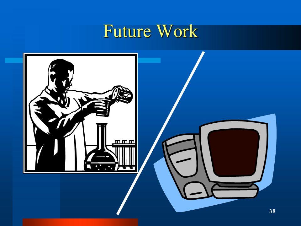 38 Future Work