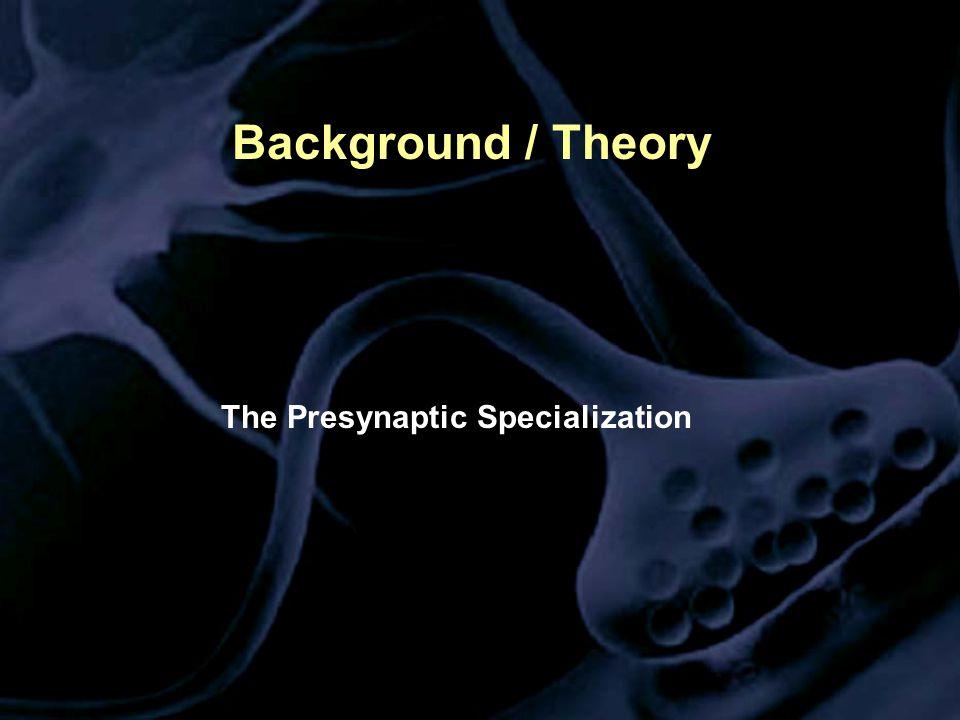 The Presynaptic Specialization