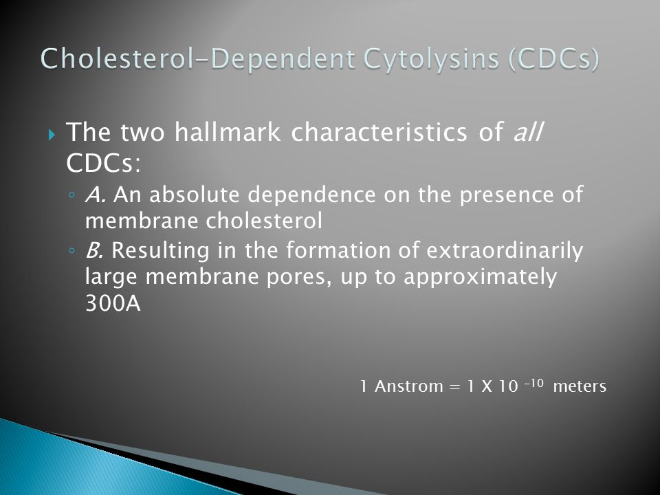  The two hallmark characteristics of all CDCs: ◦ A.