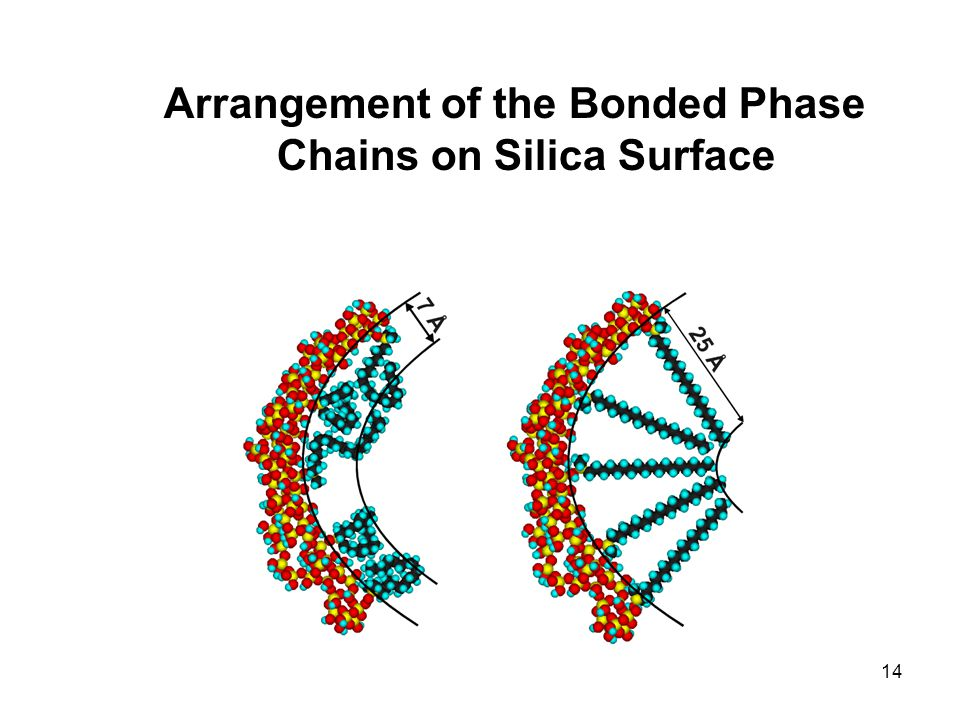 14 Arrangement of the Bonded Phase Chains on Silica Surface