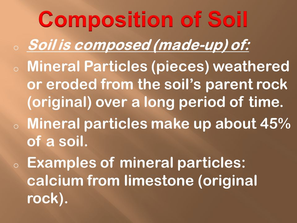o Air is found in spaces (pores) between soil particles.