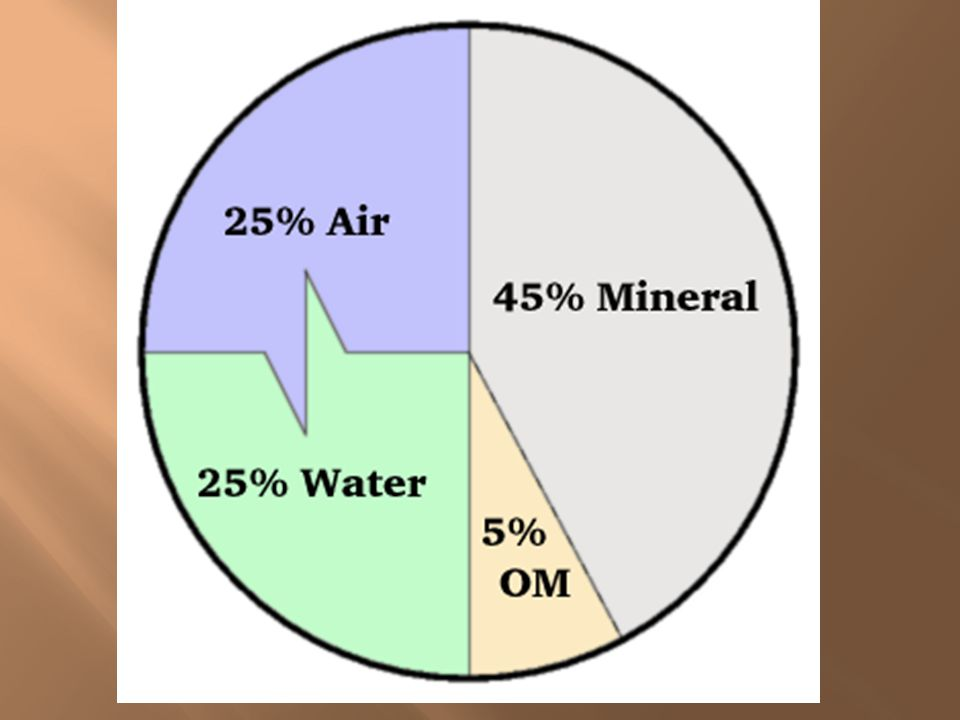  There are 6 major factors taken into account when describing the characteristics (qualities) of soil.