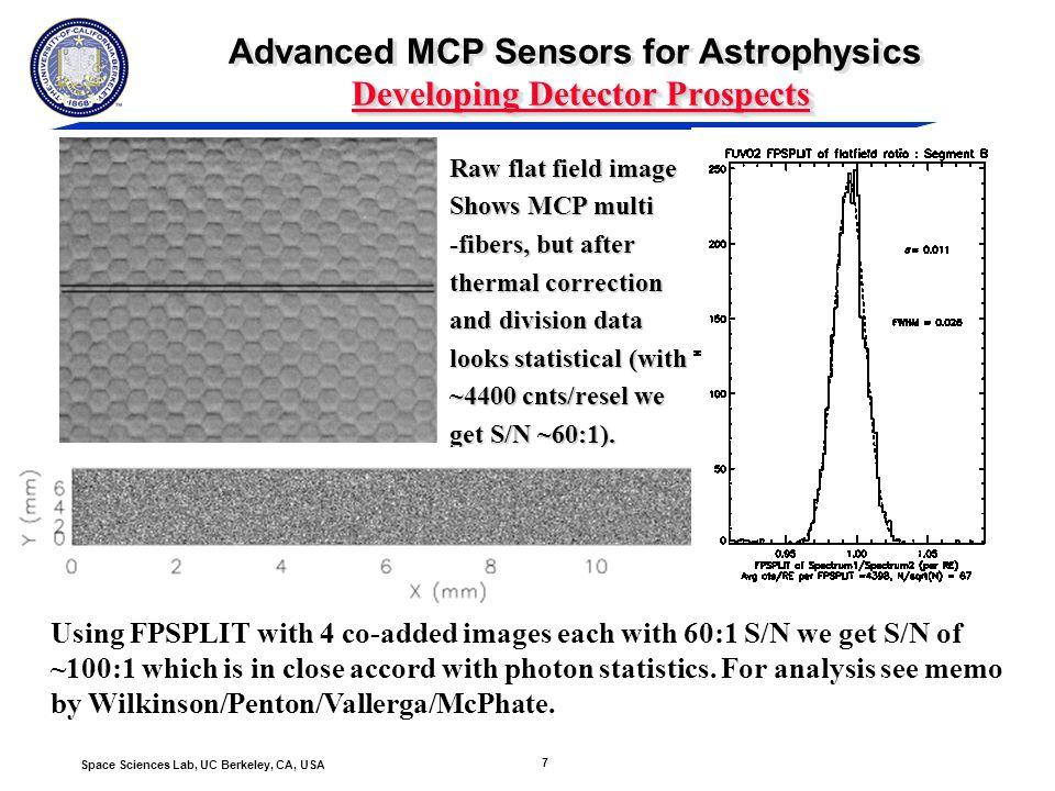 8 Space Sciences Lab, UC Berkeley, CA, USA Photocathode Development Polycrystalline boron doped diamond, band gap - 5.47 eV (227 nm) - Solar blind.