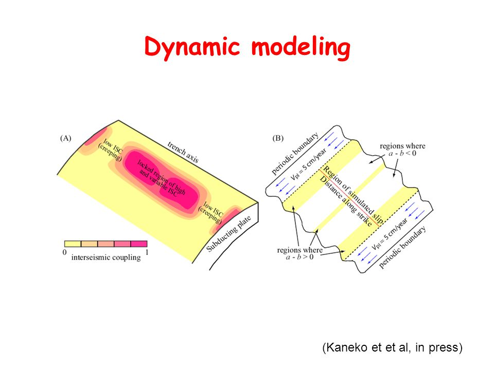 Dynamic modeling (Kaneko et et al, in press)