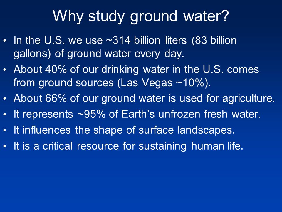 Experiments and isotopic dating give us information on movement rates of ground waters and on how long they remain in aquifers.