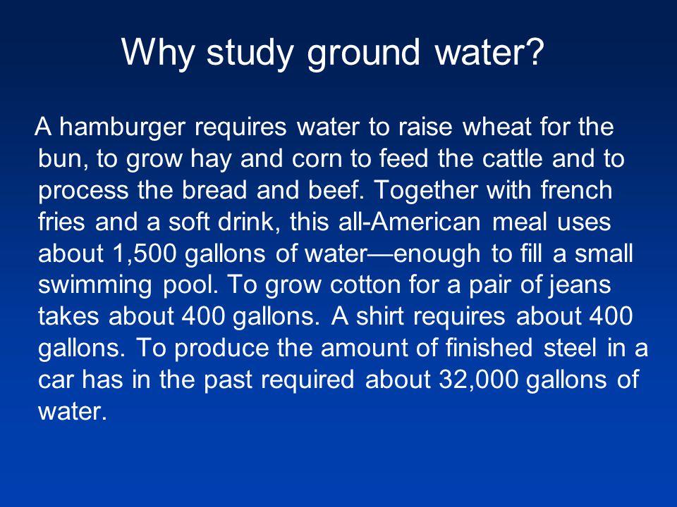 Where is ground water found.