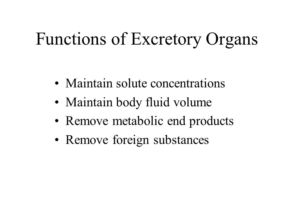 Excretion Chapter 9
