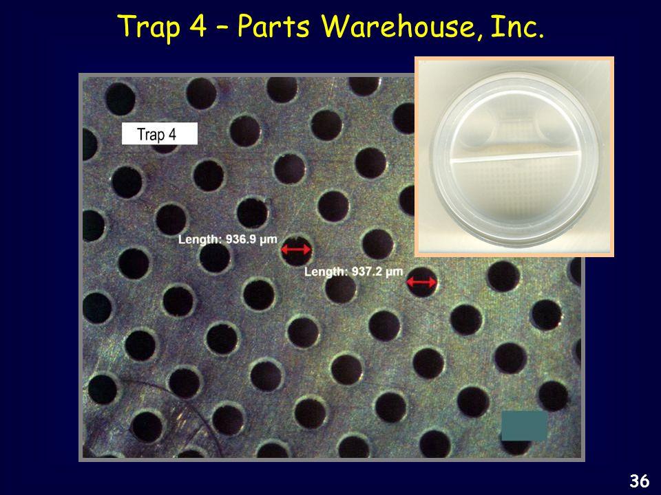 Trap 4 – Parts Warehouse, Inc. 36