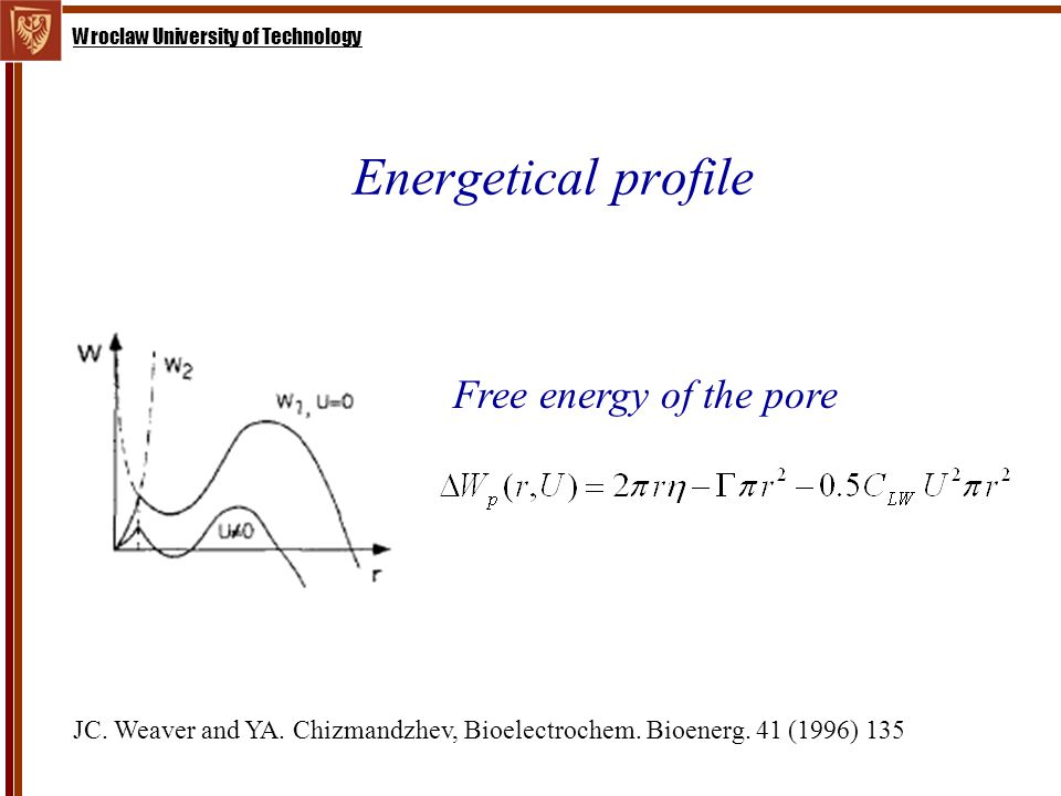 Wroclaw University of Technology Energetical profile JC.