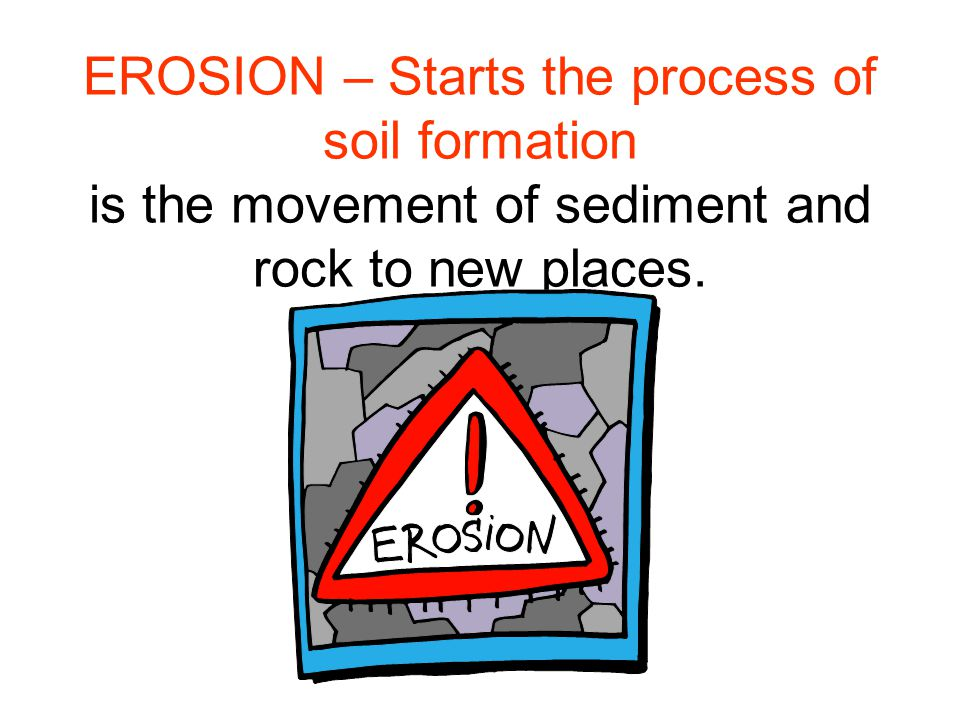Factors affecting soil formation Climate (precipitation, temperature) Vegetation (plants) Parent material (geological/organic) Organisms (soil microbes/fauna) Relief (configuration of surface)