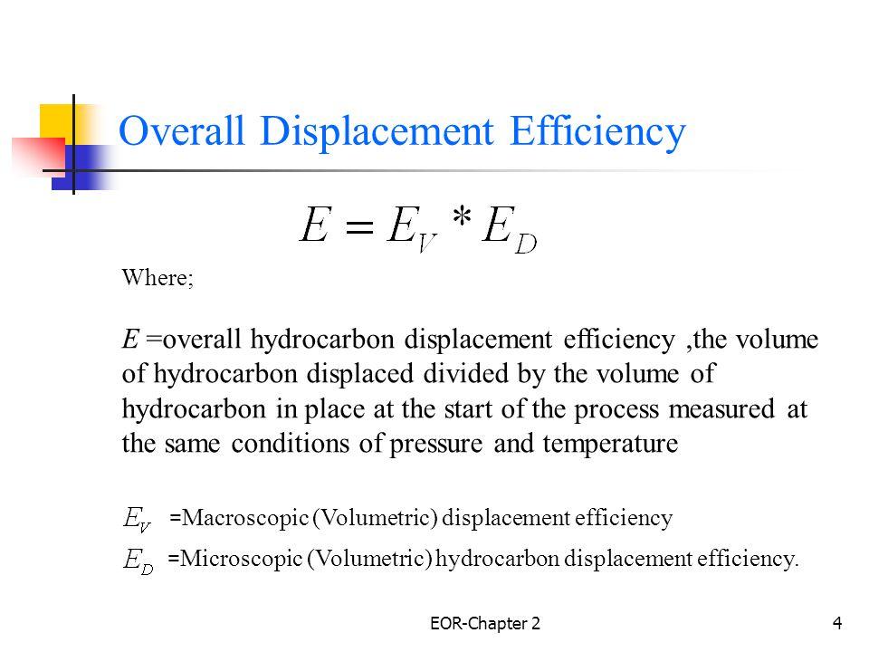 EOR-Chapter 25 Microscopic & Macroscopic sweep efficiencies