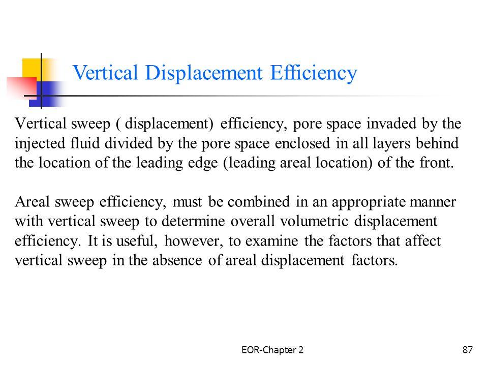 EOR-Chapter 288 Vertical Displacement Efficiency