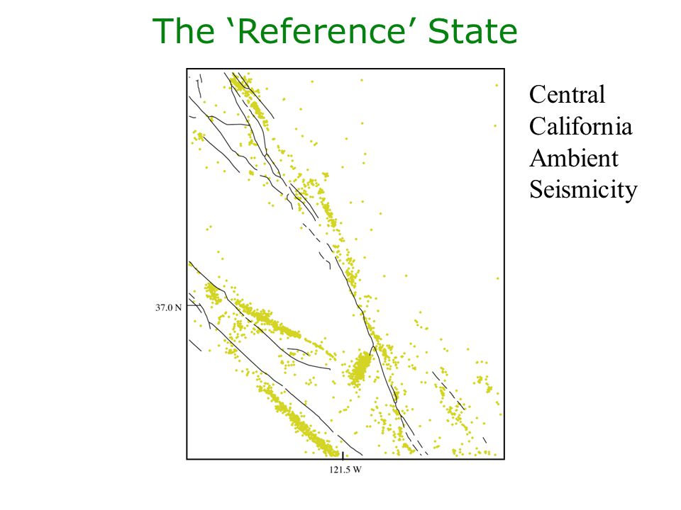 The Perturbation Coyote Lake Mainshock & Ambient Seismicity