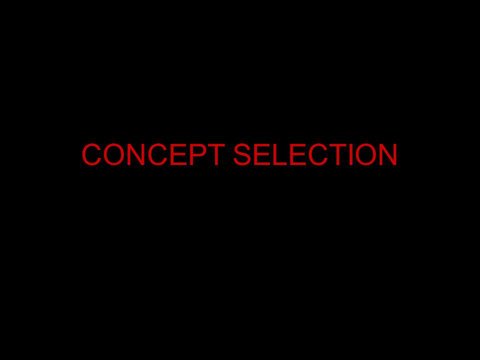 CONCEPT SELECTION
