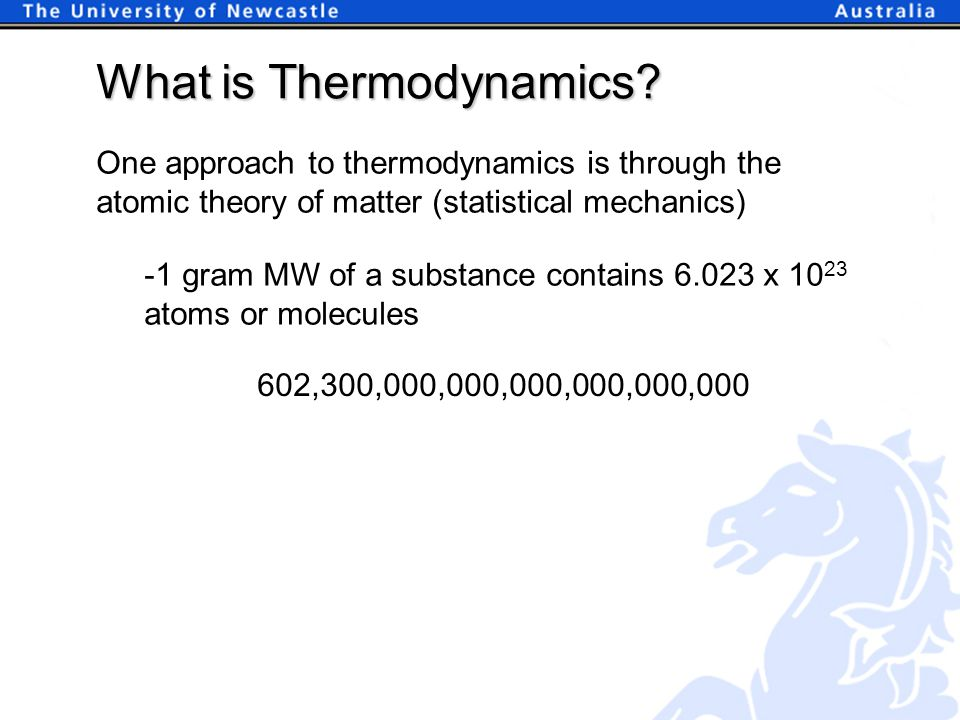What is Thermodynamics.