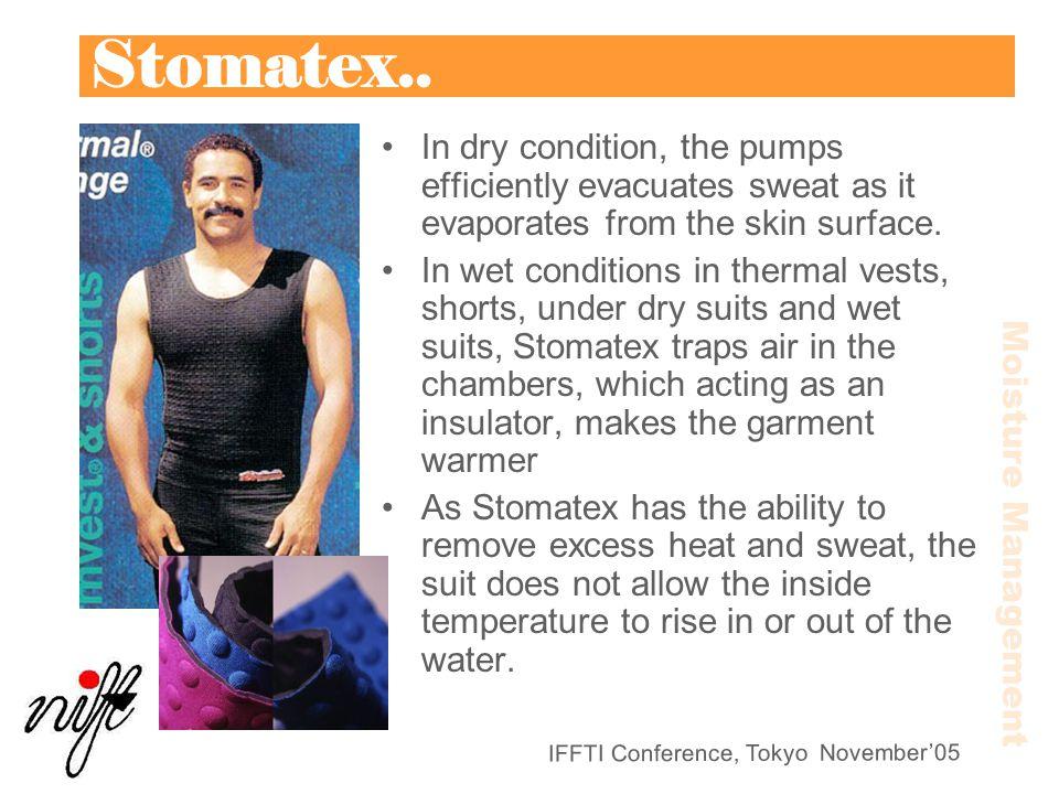 IFFTI Conference, Tokyo November'05 Stomatex..