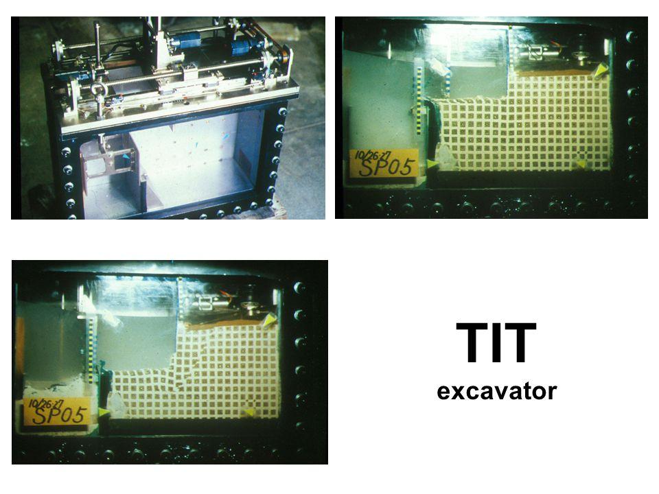 TIT excavator