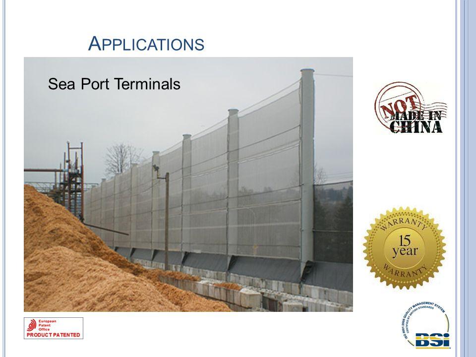 A PPLICATIONS Sea Port Terminals