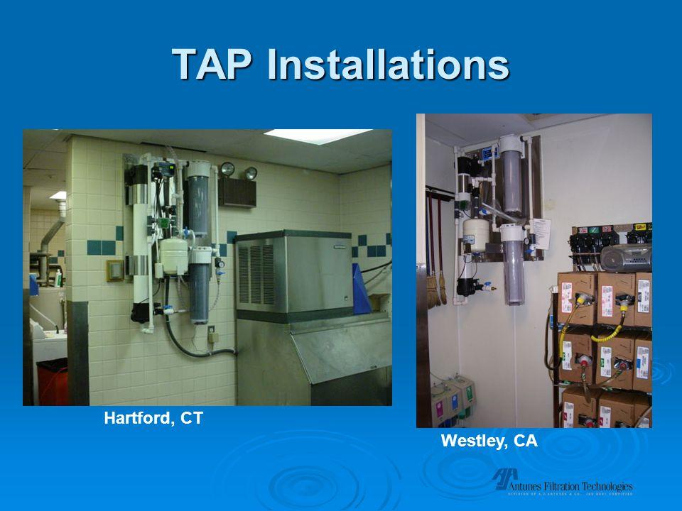 TAP Installations Westley, CA Hartford, CT
