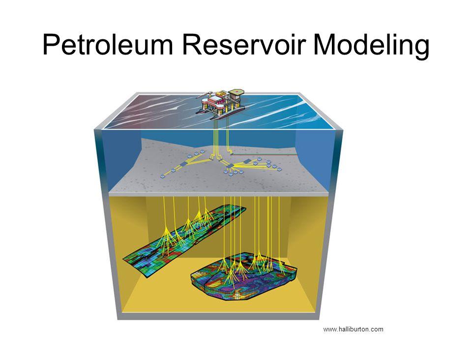 Petroleum Reservoir Modeling www.halliburton.com