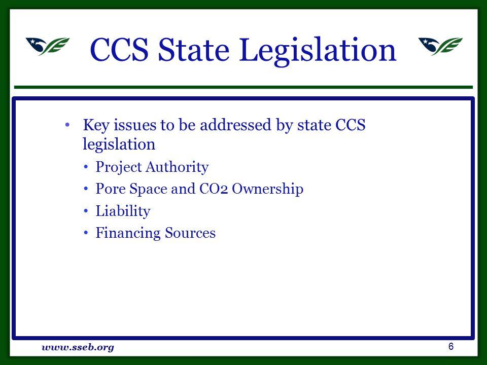 Regulatory Framework www.sseb.org 17