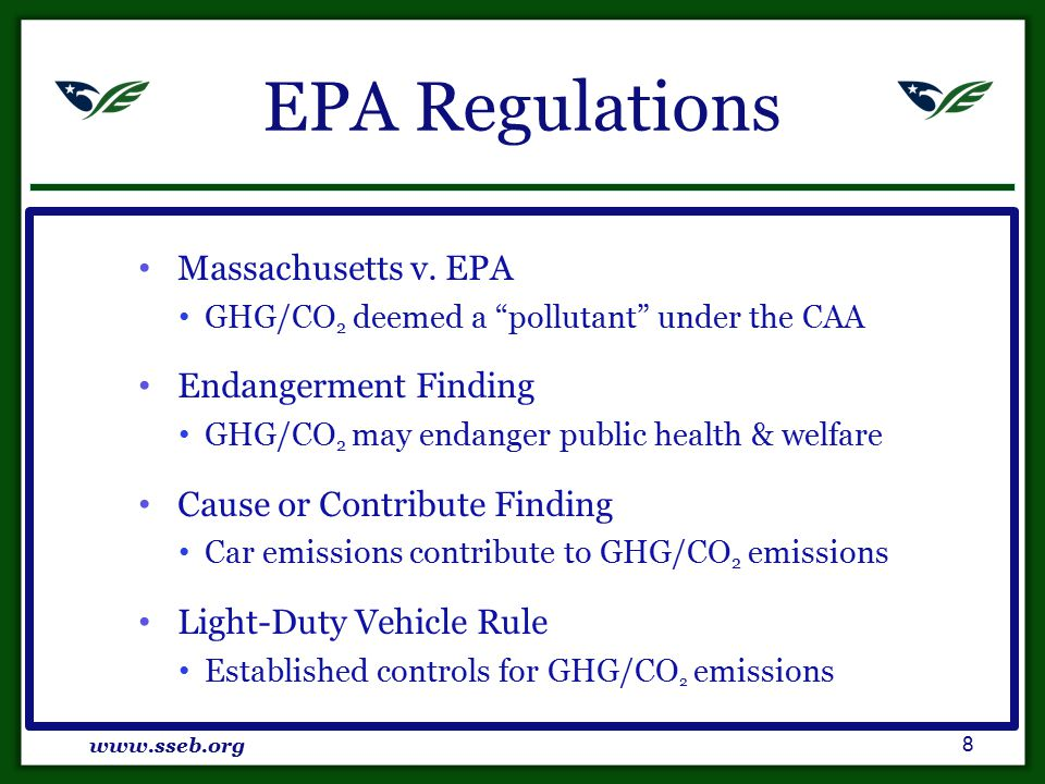 MT CCS Framework SB 498: An Act Regulating Carbon Sequestration (2009) Pore Space Ownership Pore space owned by surface estate CO2 Ownership CO2 owned by operator during injection www.sseb.org 19