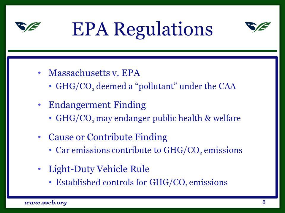 EPA Regulations Massachusetts v.