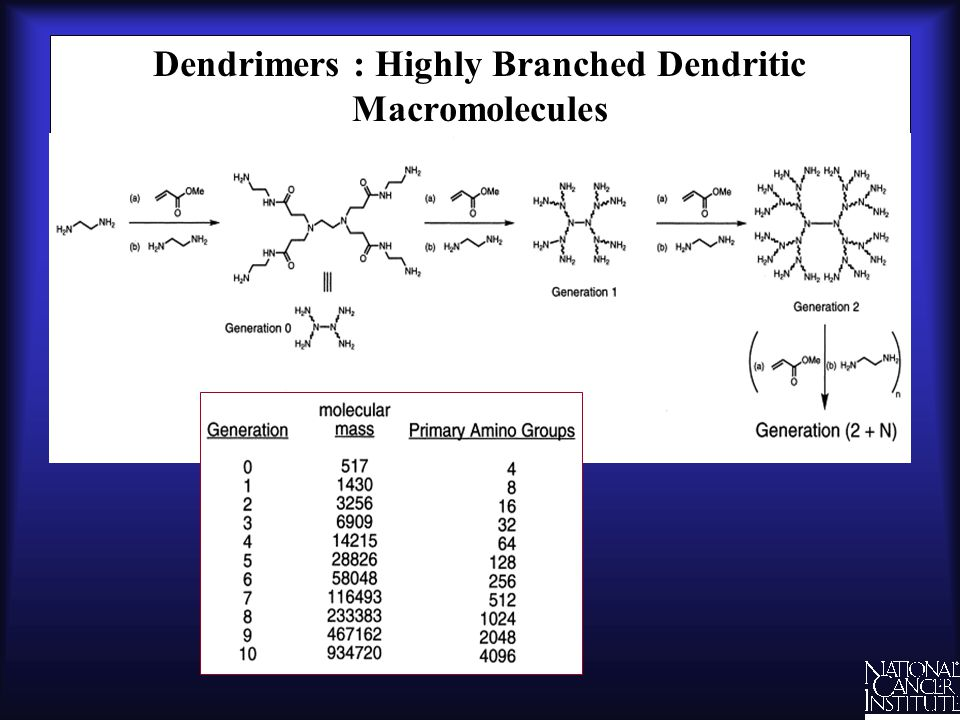 Dendrimers : Highly Branched Dendritic Macromolecules