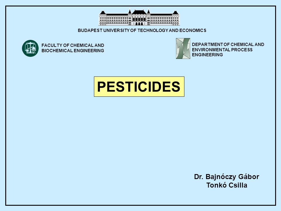 PESTICIDES Why they are necessary.Insects, rodents, weeds, fungi are competitors in human feeding.