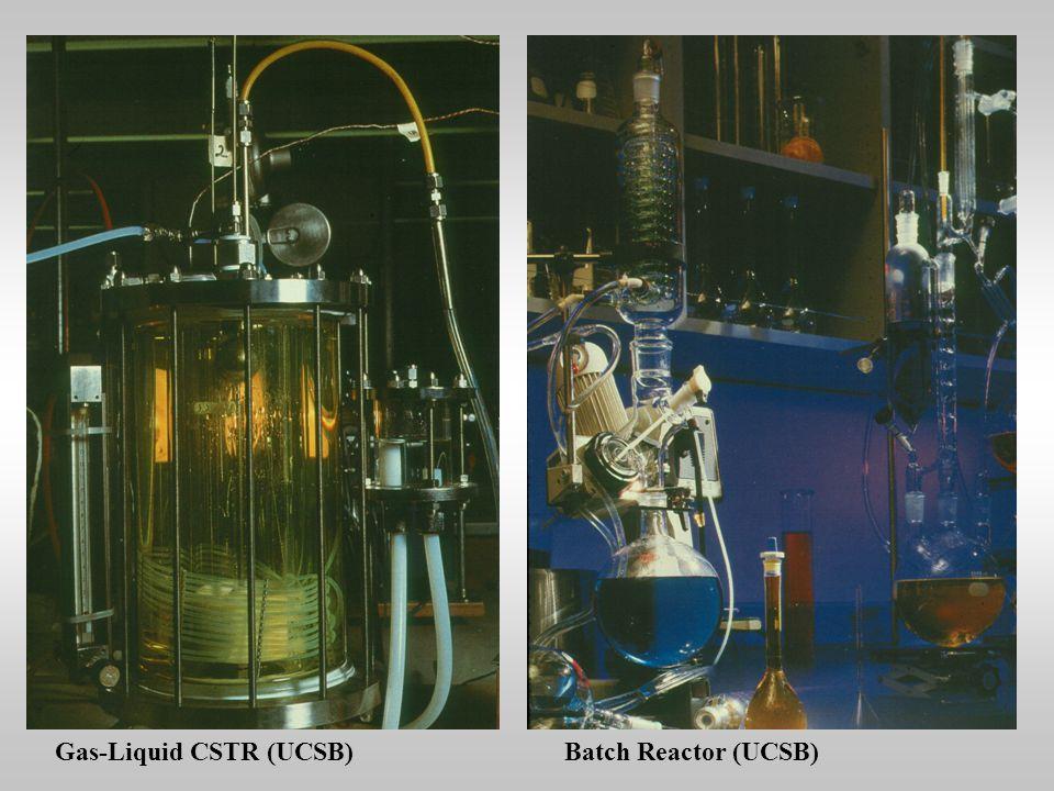 Gas-Liquid CSTR (UCSB)Batch Reactor (UCSB)