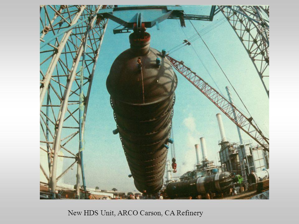 New HDS Unit, ARCO Carson, CA Refinery