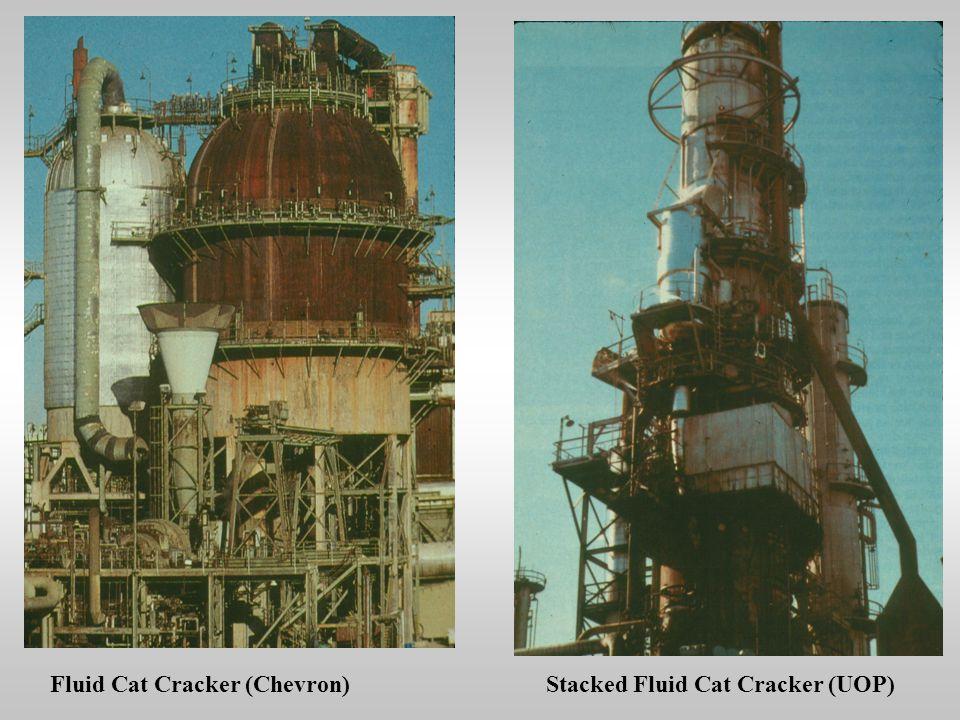 Fluid Cat Cracker (Chevron)Stacked Fluid Cat Cracker (UOP)