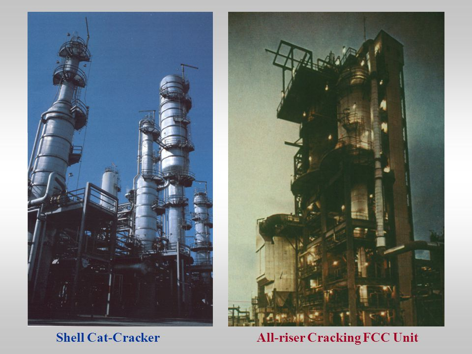 Shell Cat-CrackerAll-riser Cracking FCC Unit