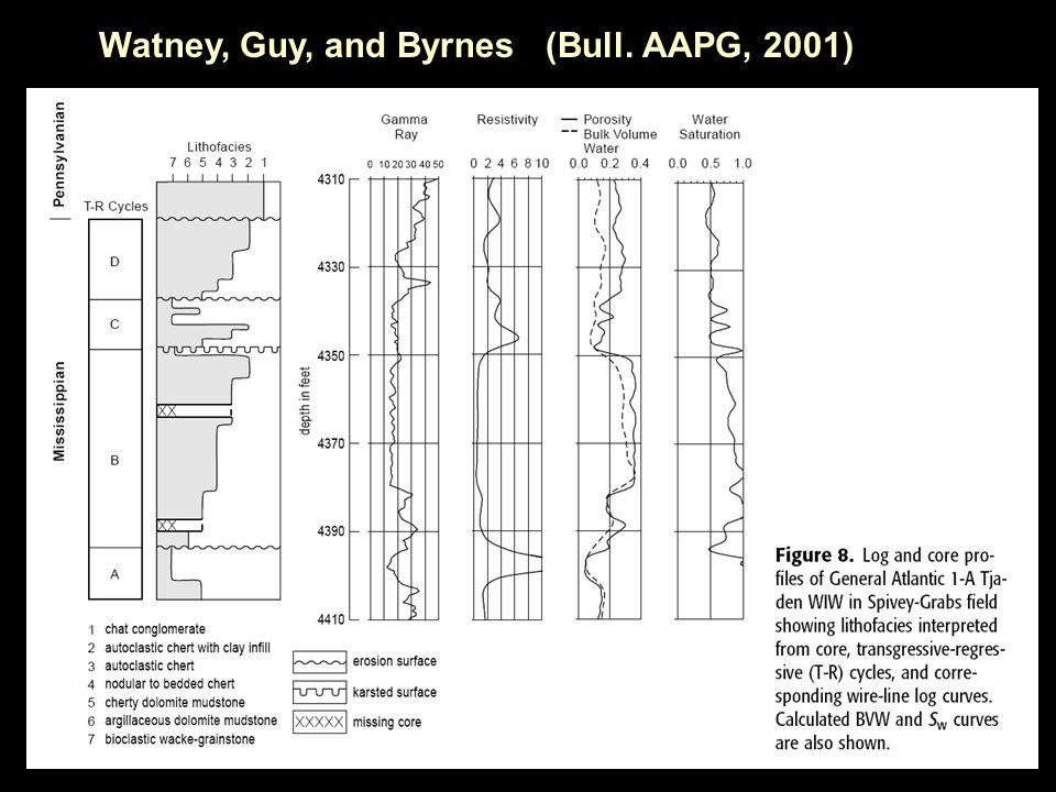 Watney, Guy, and Byrnes (Bull. AAPG, 2001)