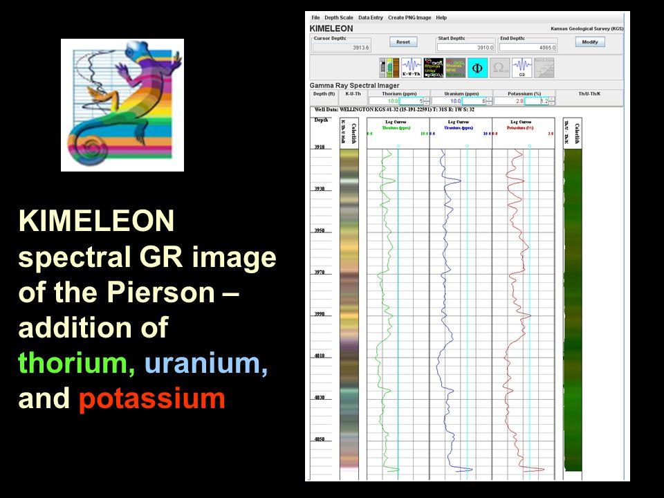 KIMELEON spectral GR image of the Pierson – addition of thorium, uranium, and potassium