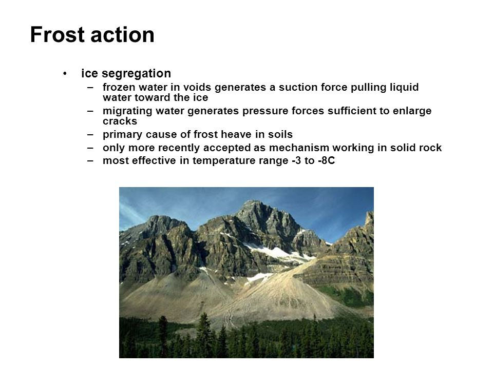Oxidation/reduction (Chemical Weathering) oxidation –element in a mineral structure loses electrons increasing their charge –reaction between ions and oxygen results in formation of oxides and hydroxide –occurs above water table –examples: