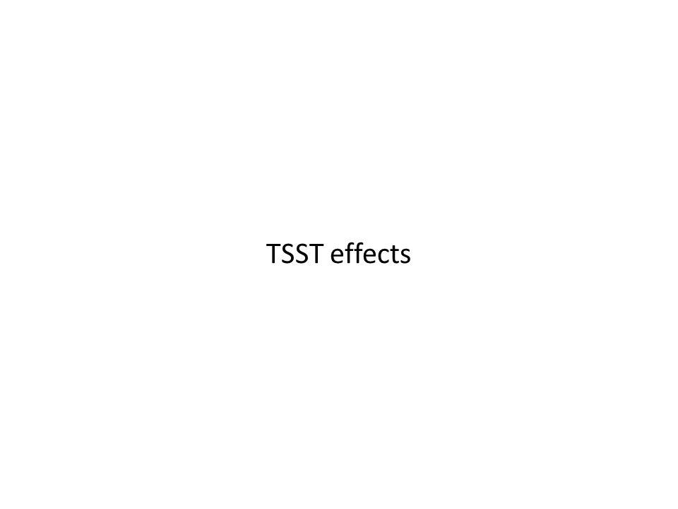 TSST effects